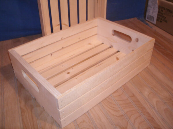 18quot;wooden crate wood crate slatted crate storage crate 5quot;