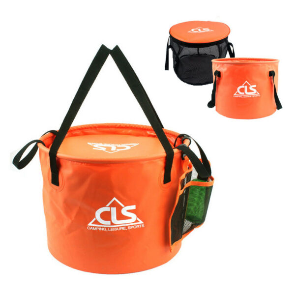 30L Large Outdoor Camping Folding Bucket Washing Portable Collapsible Water Pail