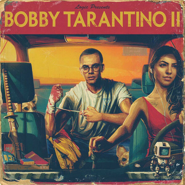Logic - Bobby Tarantino II 2 Mixtape CD