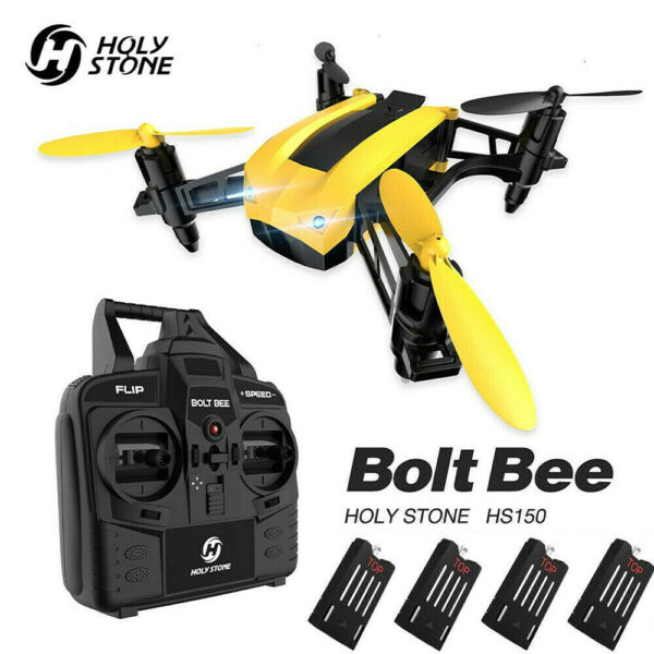 Holy Stone HS150 Bolt Bee Mini RC Racing Drone High Speed RTF Quadcopter Gift