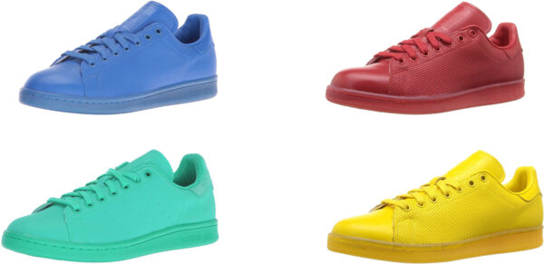 adidas Originals Men's Stan Smith Adicolor Fashion Sneakers, 4 Colors