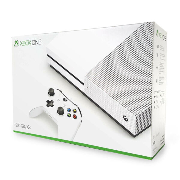 Xbox One S 500GB Open Box - Good Retail Box [Factory Refurbished]