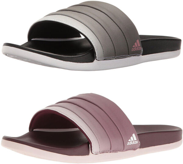 adidas Women's Adilette Cloudfoam Plus Armad Athletic Slides, 2 Colors