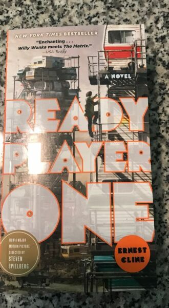 Ready Player One Paperback Book - ✔ 978-0307887443 ✔ Spielberg New ✔