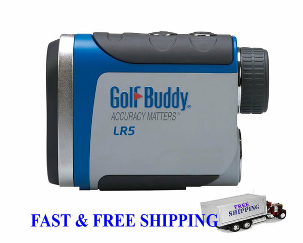 Golf Buddy LR5 Golf GPS Laser Rangefinder Gray/Blue BRAND NEW