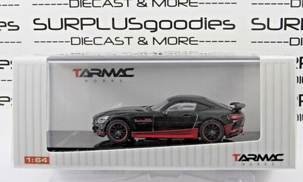 Tarmac Works 1:64 Scale 2018 Hobby64 Black MERCEDES AMG GT-R GTR Movie Edition