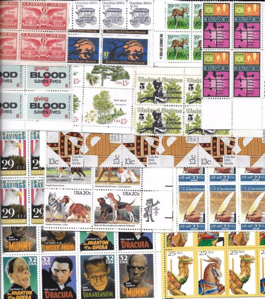 Stamps USA postage stamps $100 FACE value lot of unused discount postage USA