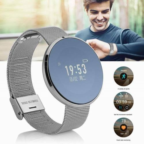 Waterproof Smart Watch Touch Screen Phone Mate For IOS Android iPhone Samsung E%