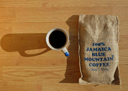 Ridgelyne CERTIFIED 100% Jamaica Blue Mountain Coffee roasted beans 7x1lb pack