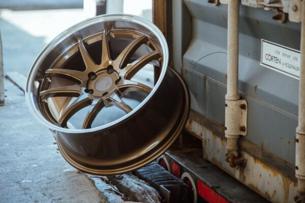 Aodhan DS02 18x9.5 +15 18x10.5 +22 5x114.3 Bronze Staggered(Set of 4)