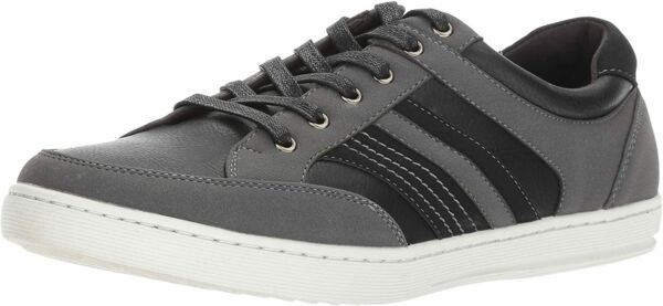 Kenneth Cole Unlisted DESIGN Athletic Men's Casual Black Leather Shoe Sneaker