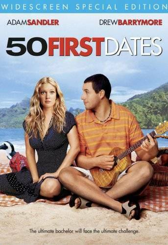 50 First Dates Widescreen Special Edition DVD By Adam Sandler VERY GOOD