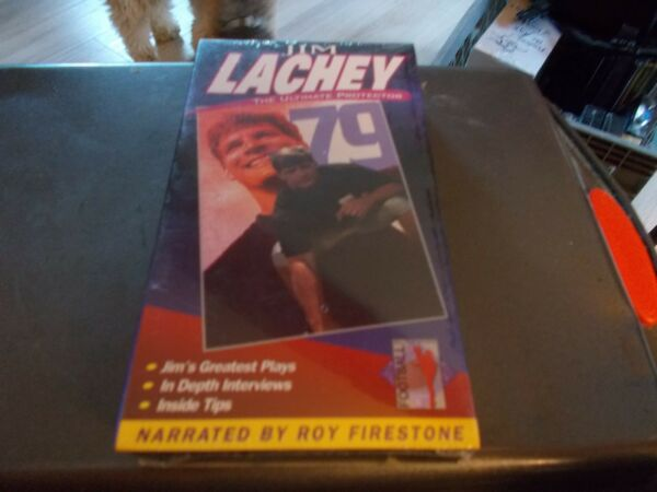 JIM LACHEY VHS VIDEO THE ULTIMATE PROTECTOR BRAND NEW SEALED $20.00