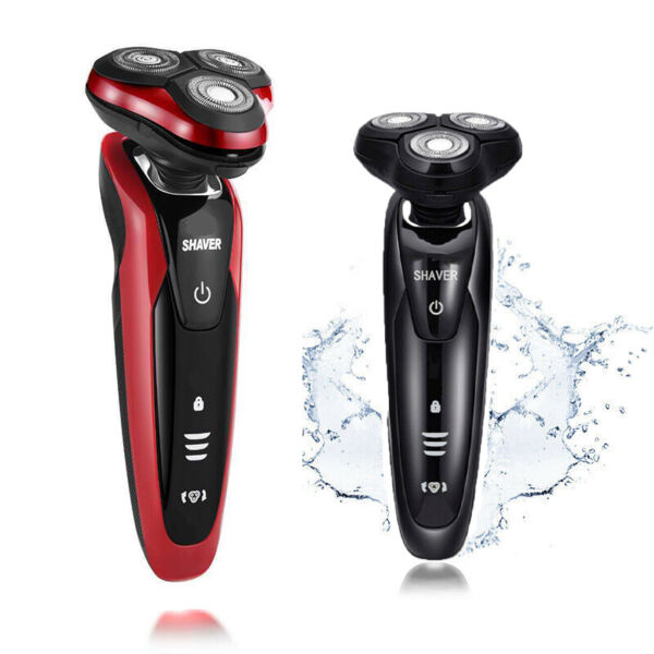 Multi-colors Rotary 3D Rechargeable Washable Men's Cordless Electric Shaver Razo