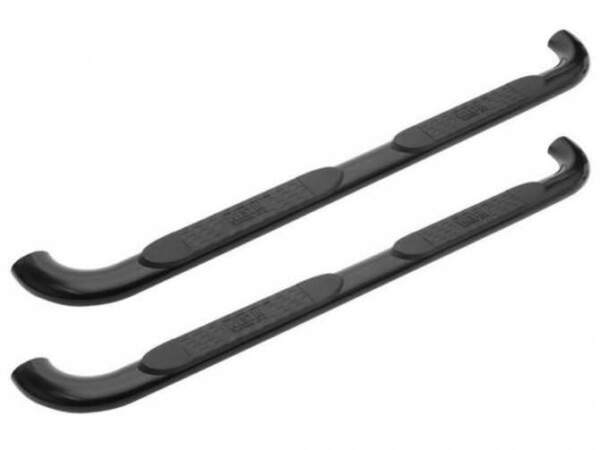 Westin Platinum Series Oval Nerf Bars 4quot;Black Powder Coated for 11 18 Explorer