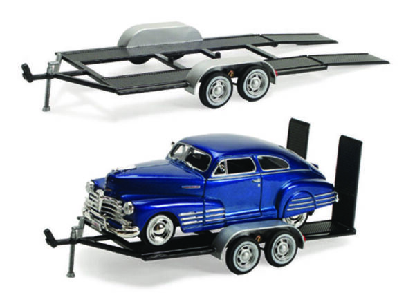 Trailer Car Carrier Motormax 76001 1 24 Scale Diecast Model Toy Car $14.99