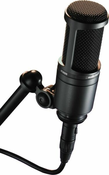 Audio Technica AT2020 Studio Condenser Microphone Mic We'll Beat any Price!