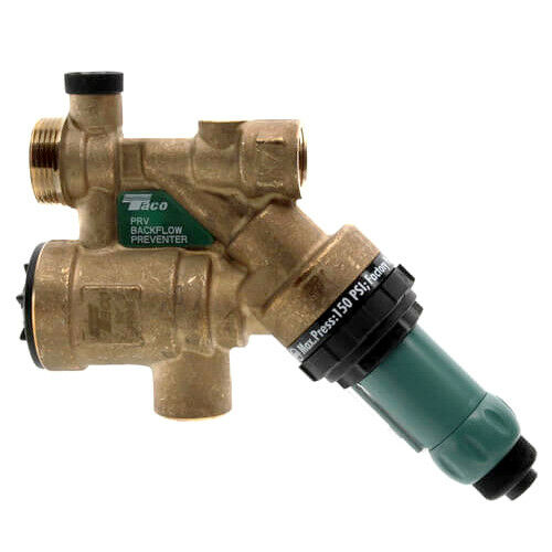Taco 3450 T2 1 2quot; Combination Boiler Feed Valve amp; Backflow Threaded $95.52