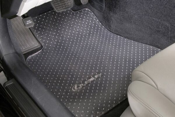 Clear Vinyl - Floor Mats - Protectors - Front Only - CUSTOM -For Toyota A-D