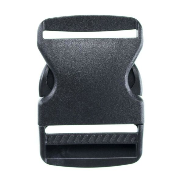 2 Inch Side Release Black Plastic Buckles - Available in Packs of 2 5 or 10