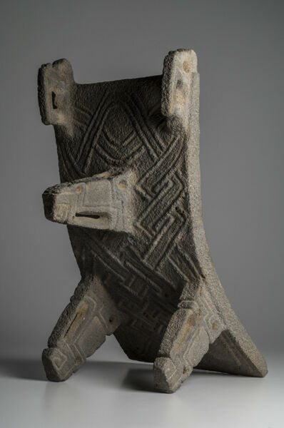 Important Pre-Columbian Costa Rican Large Condor Metate Ex- Sotheby's Ex-Museum