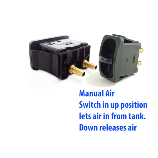 2 Manual Paddle Valve Switches Control Air Ride Suspension Air  Lift Performance