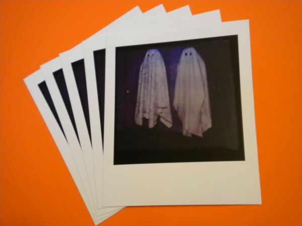 5 BEETLEJUICE POLARIOD Ghost Photo Handbook for the Recently Deceased movie prop