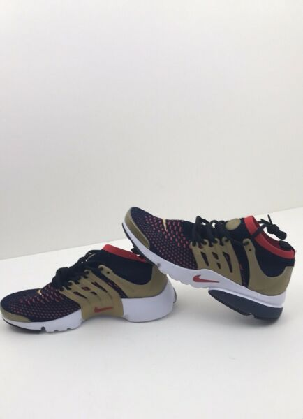 Nike Air Presto Flyknit Ultra Shoes USA Olympic Navy Gold Red 835570 Size 11