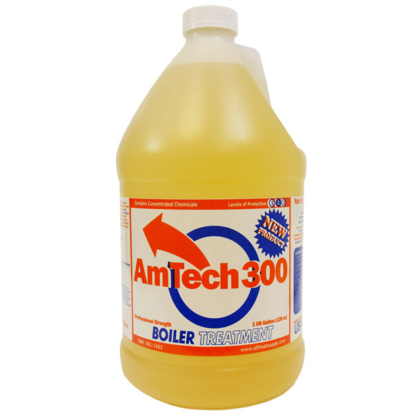 Amtech 300 Outdoor Wood Boiler Water Treatment Corrosion Inhibitor 1 Gallon $41.99
