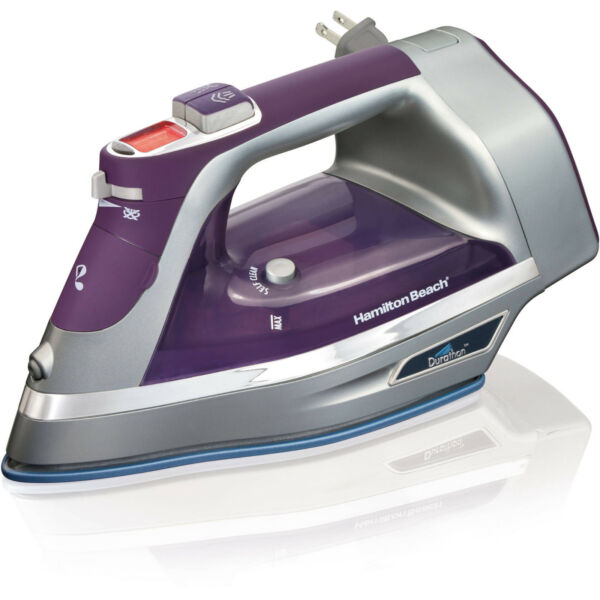 Hamilton Beach 1700W Durathon Digital Retractable Cord Clothing Iron 19902R