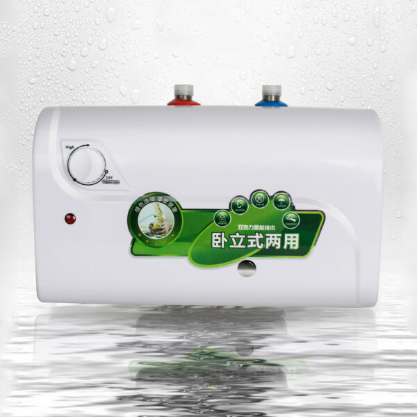 1500W 110V 8L Instant Electric Tank Hot Water Heater Home Bathroom Kitchen Hotel