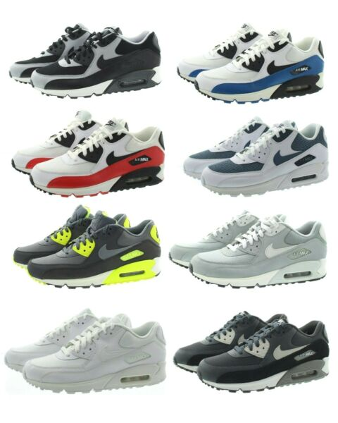 Nike 537384 Men's Air Max 90 Essential Low Top Running Athletic Shoes Sneakers