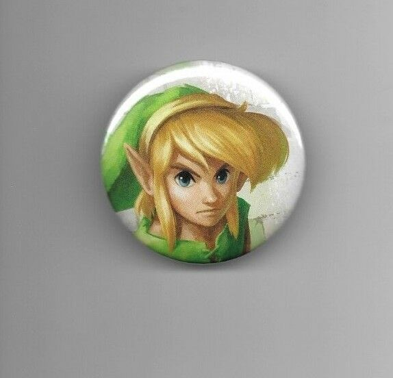 Link The Legend of Zelda 2quot; Gaming Button