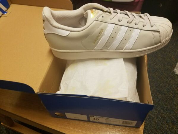 Adidas Superstar Tan Brand New Men Size 10