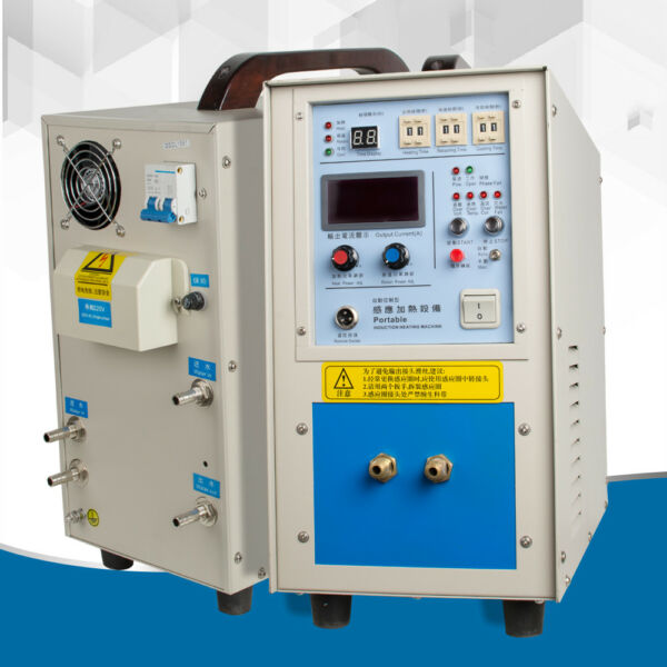 15KVA 30-80Khz High Frequency Induction Heater Furnace For Heat Source Machine