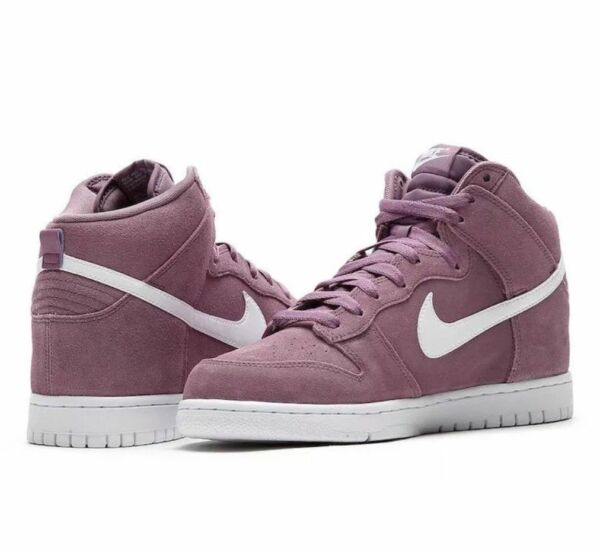 NEW Nike Men's Dunk Hi Shoes 904233 500 Suede Violet Dust White MANY SIZES