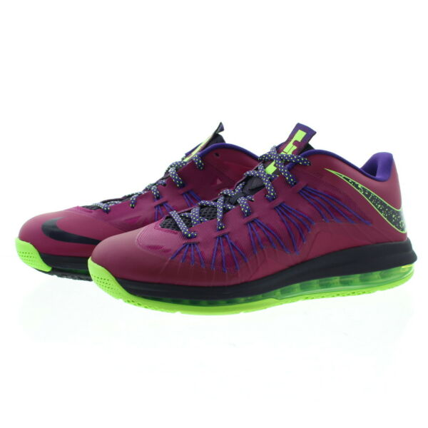 Nike 579765 Mens Air Max Lebron X Low Top Basketball Shoes Sneakers