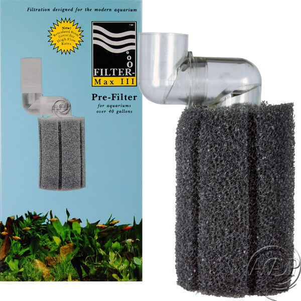 ATI Filter Max 3 Patented Aquarium Pre Filter; from AAP Authorized Seller $15.99