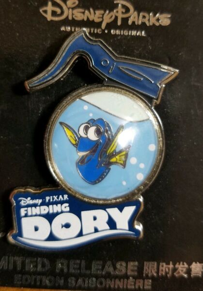 Disney Park Shanghai Resort Finding Dory Limited Release Pin New On Card