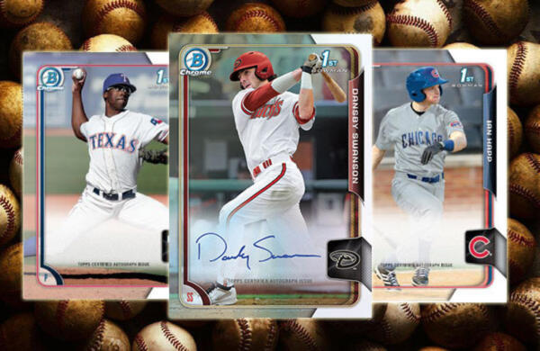 2015 Bowman Chrome Draft = Pick Player - Build Your Set - Get Signed - ROOKIESHQ
