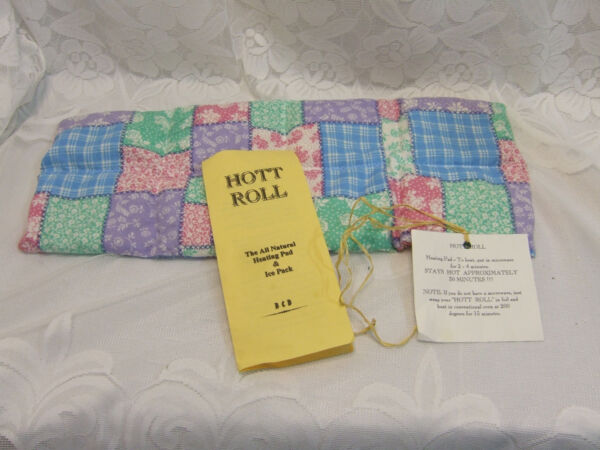 Hott Roll All Natural Heating Pad amp; Ice Pack $7.50