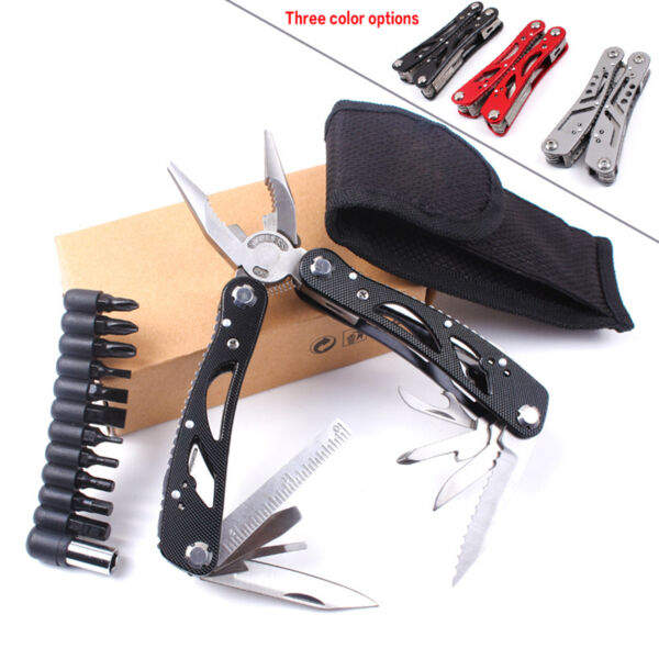 1Pcs Multi-Tool Outdoor Survive Camping Multi Functional Tool Pocket Pliers Tool