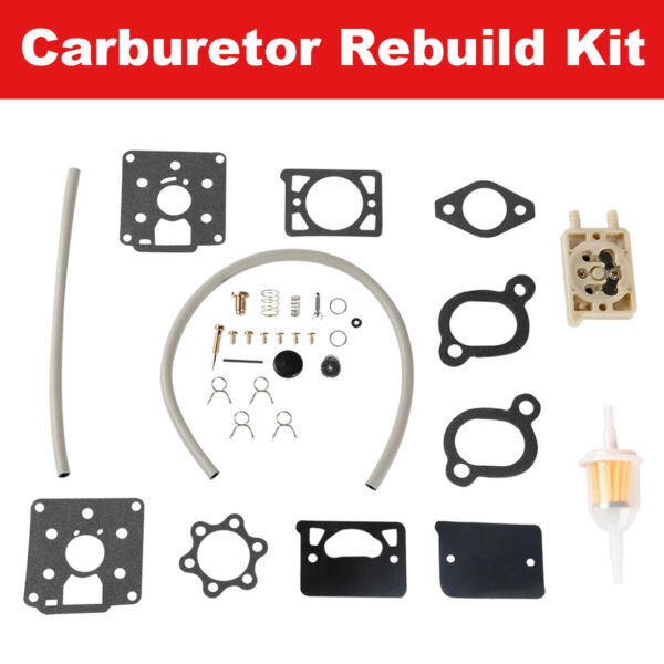 CARBURETOR KIT DD11 DD13 DD15 WITH FUEL PUMP BF BG B43M B48M Fit For ONAN $15.98