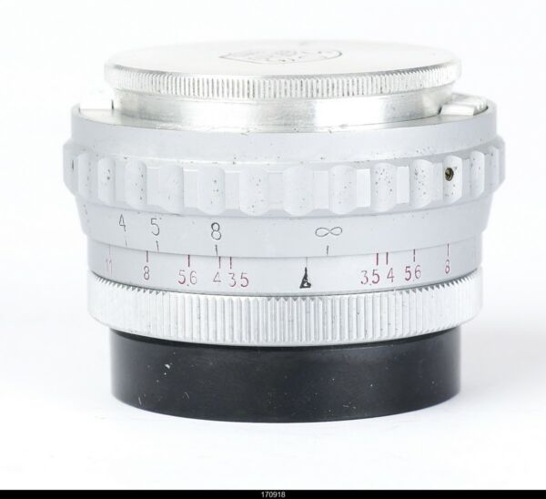 Lens  Som Berthiot Paris  Flor 3.535mm for Leica Screw 39