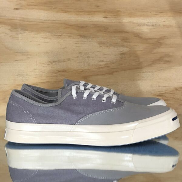 Converse Jack Purcell Signature Ox Low Top Grey White Casual Shoes 153593C Size