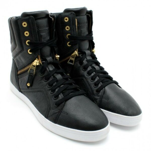 Reebok x Swizz Beatz Time To Show High Top Zip Boot