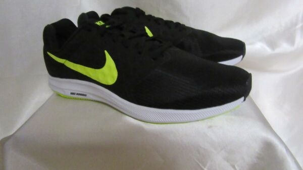 MEN`S NIKE DOWNSHIFTER 7 ATHLETIC SNEAKERS SIZE 10.5M NEW #852459 008 BLK