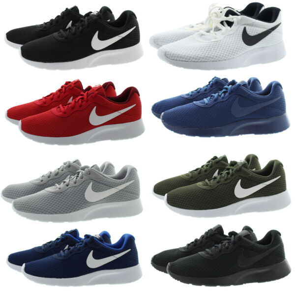Nike 812654 Mens Tanjun Breathable Low Top Performance Running Shoes Sneakers