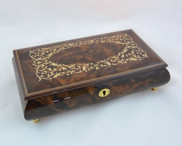 Made in Italy Sorrento Classico pattern design musicbox - Music Box Dancer