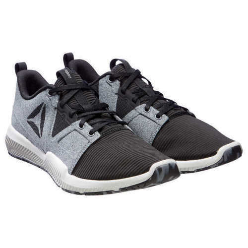 Reebok Men's Hydrorush TR Cross Training Athletic Sneakers Shoe Black / Gray